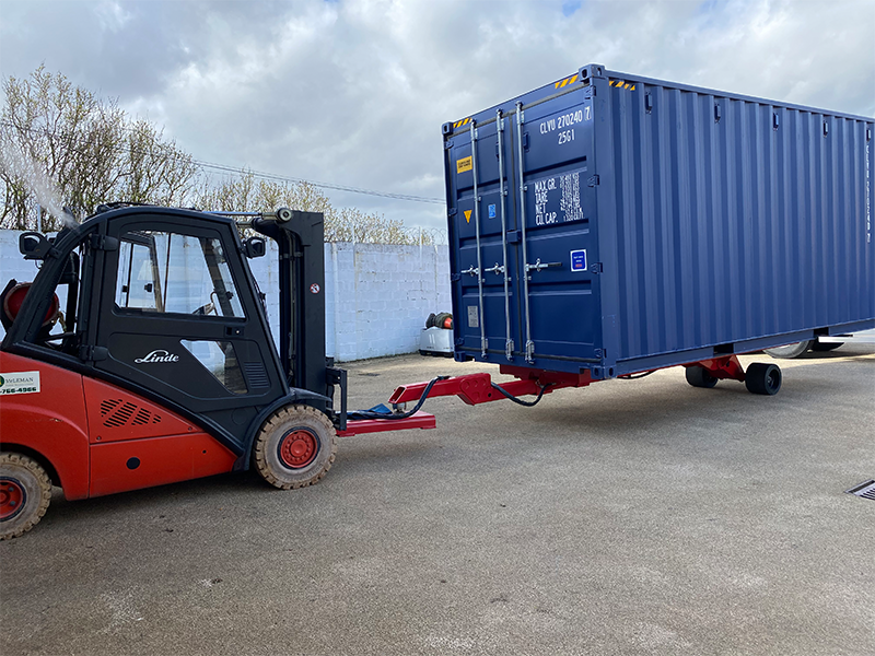 Automate Carrying Cargo Container for Morris Office