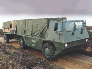 Multidrive Vehicles LTD - Flexible Frame Vehicle (FFV) 3