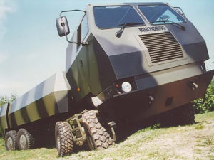 Multidrive Vehcles LTD Millitary Camoflague Water and Fuel Tanker