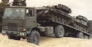 Multidrive Vehicles LTD - MTM40 Carrying Two Tanks